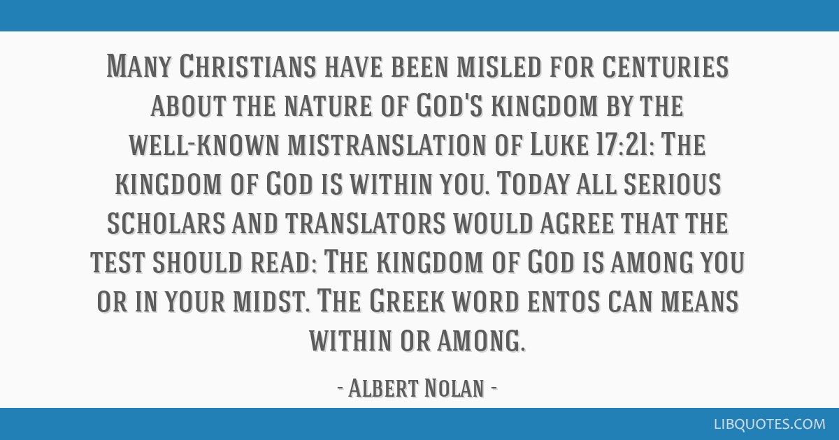 many christians have been misled for centuries about the nature of