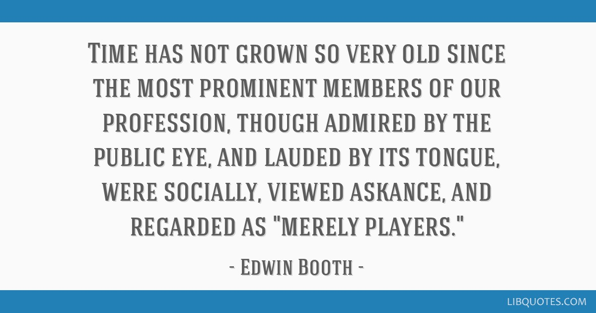 Time has not grown so very old since the most prominent members of our profession, though admired by the public eye, and lauded by its tongue, were...