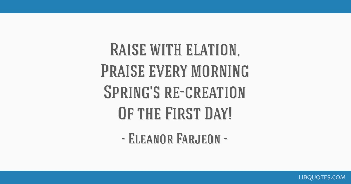 """a morning song eleanor farjeon Home ignatian songs best ignatian songs: morning has  our ignatian song this week is """"morning has broken,"""" a  1930s by a poet named eleanor farjeon and."""