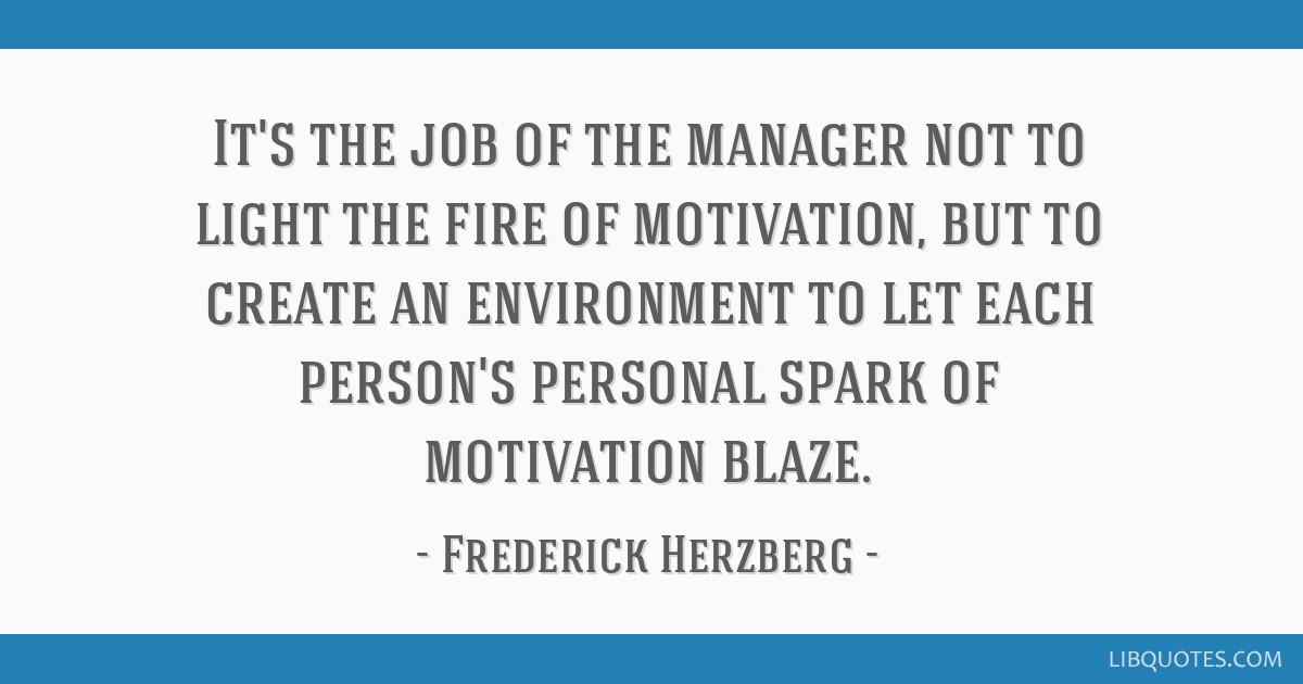 Frederick Herzberg Quotes