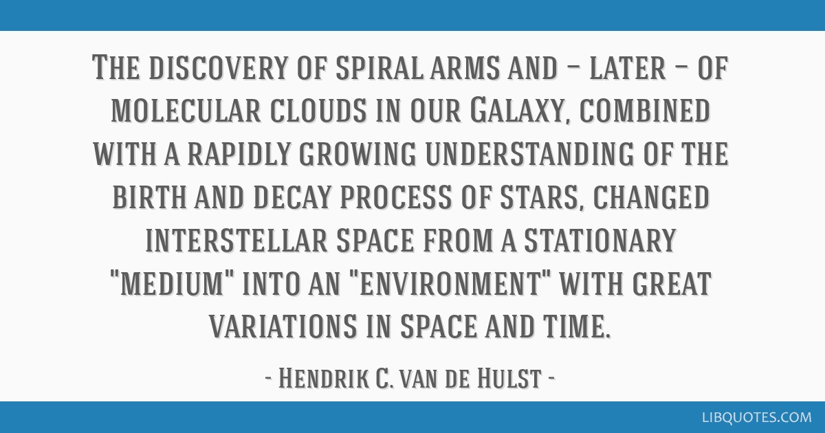 The discovery of spiral arms and — later — of molecular clouds in our Galaxy, combined with a rapidly growing understanding of the birth and...