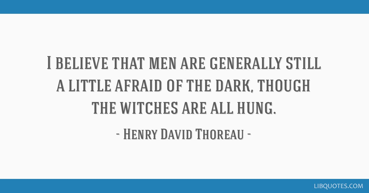 I believe that men are generally still a little afraid of