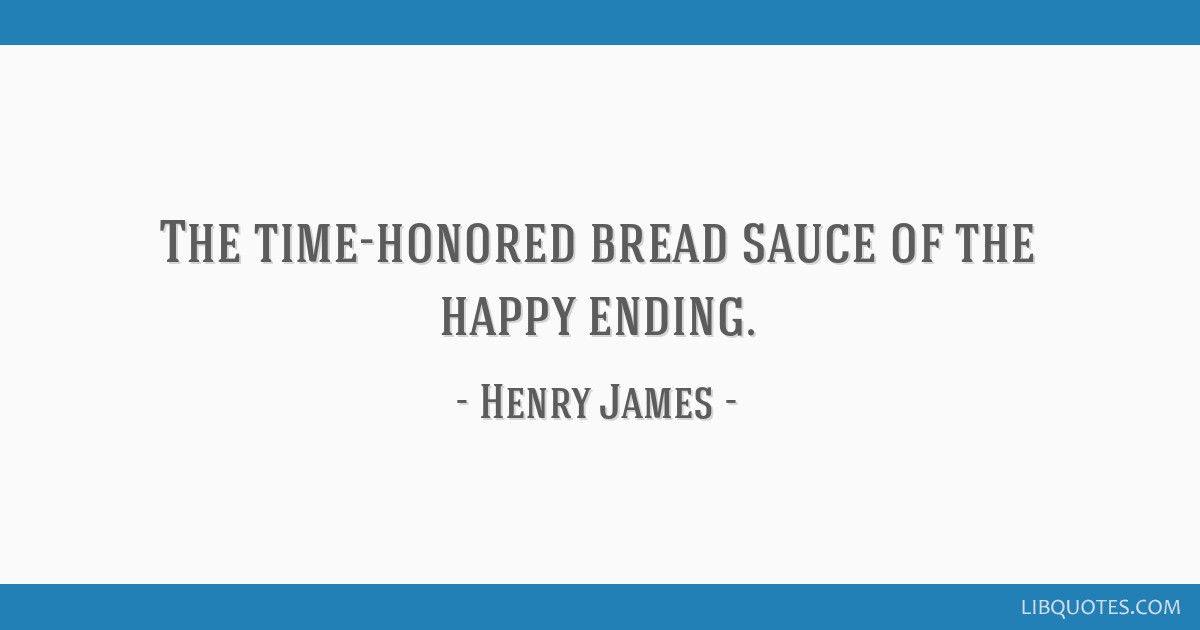 the time honored b sauce of the happy ending