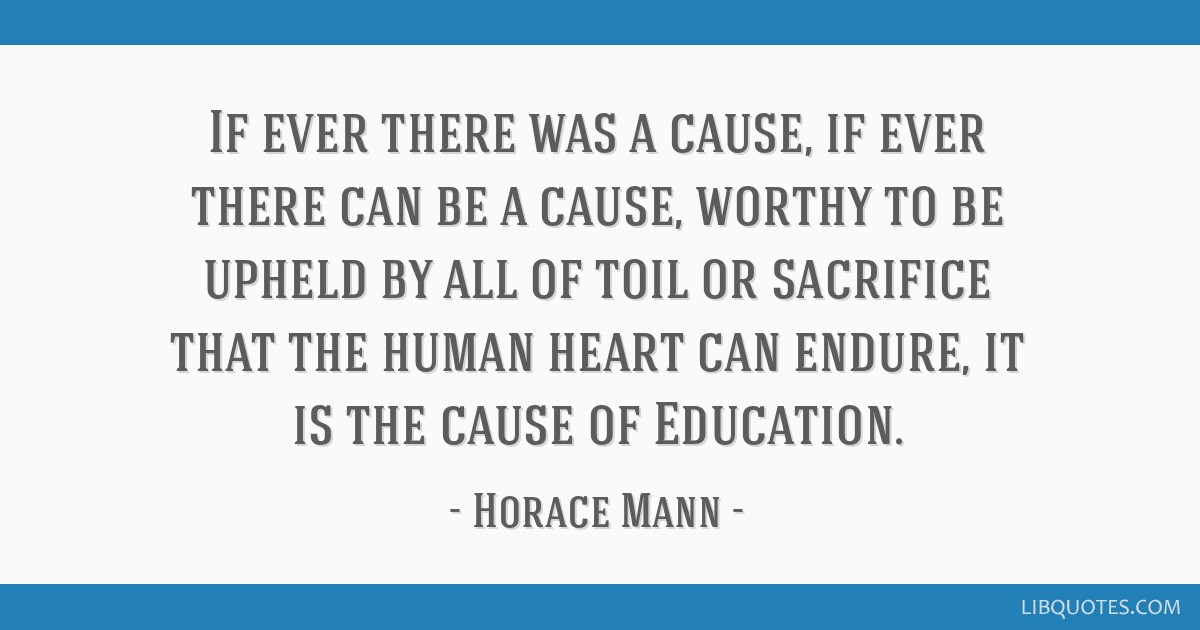 If ever there was a cause, if ever there can be a cause, worthy to be upheld by all of toil or sacrifice that the human heart can endure, it is the...