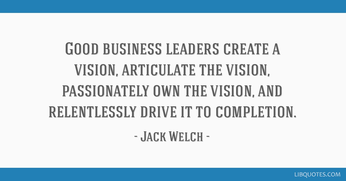 Great Business Quotes Vision 12 Quotes