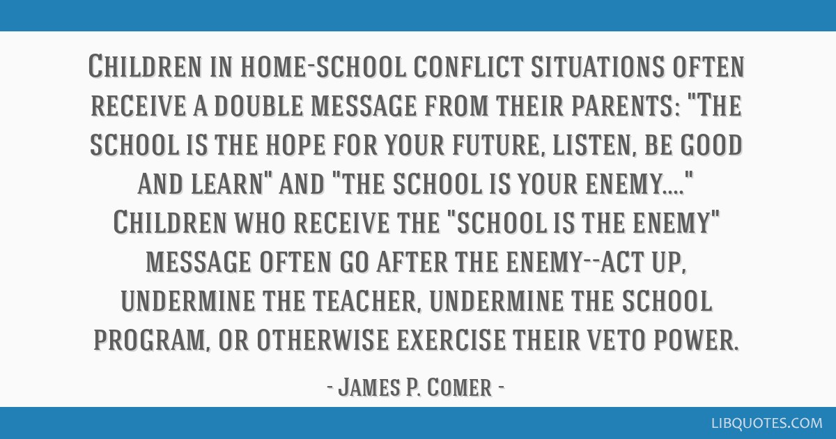 what i learned in school comer james p