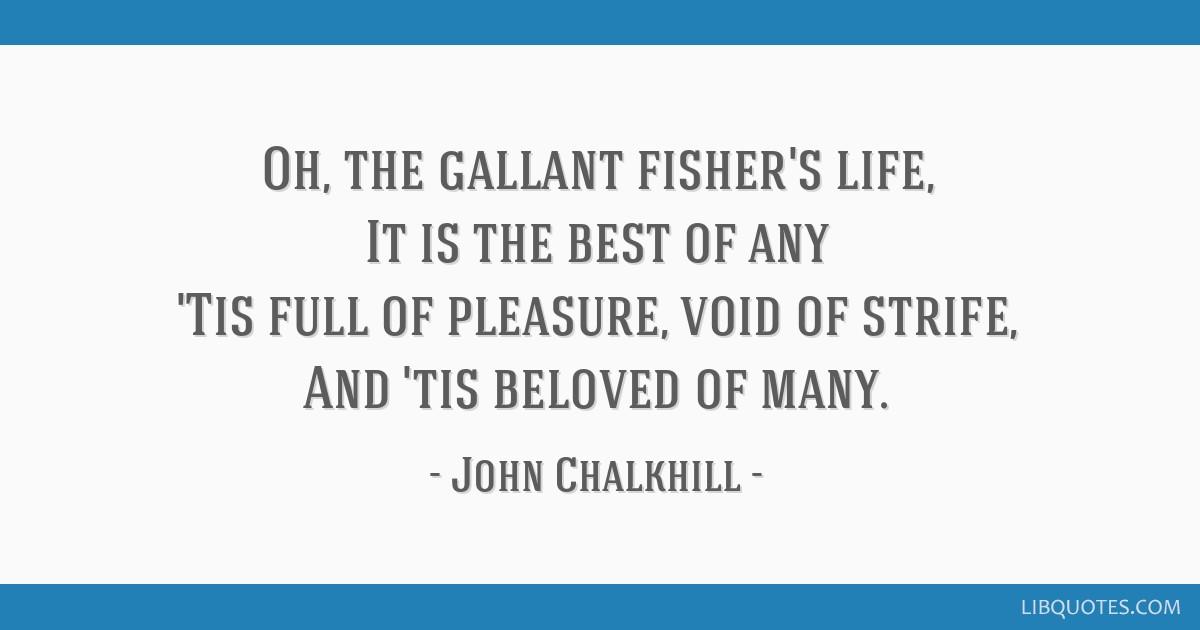 John Chalkhill follie 1595