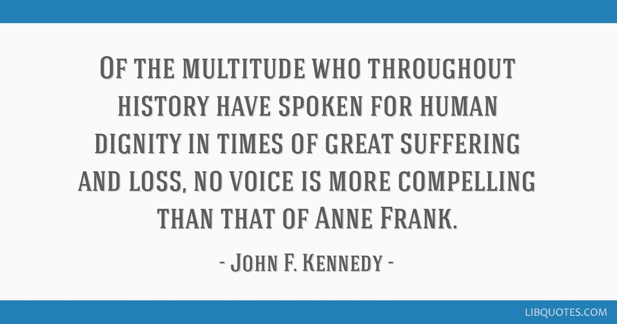 Of the multitude who throughout history have spoken for human dignity in times of great suffering and loss, no voice is more compelling than that of...