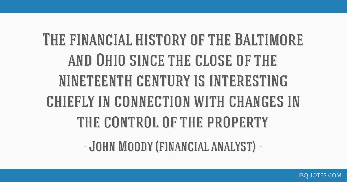 The financial history of the Baltimore and Ohio since the close of the nineteenth century is interesting chiefly in connection with changes in the...