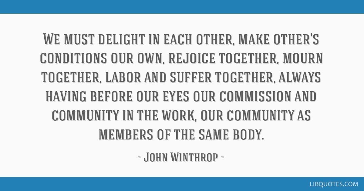 john winthrop quotes