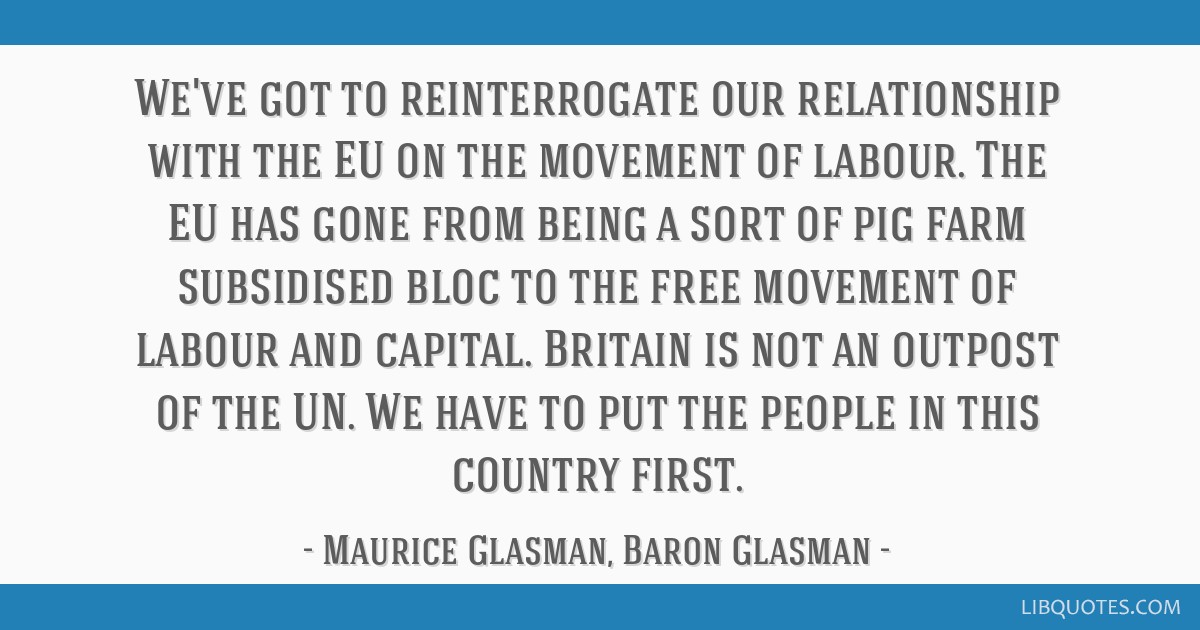 Image result for Maurice glasman quotes