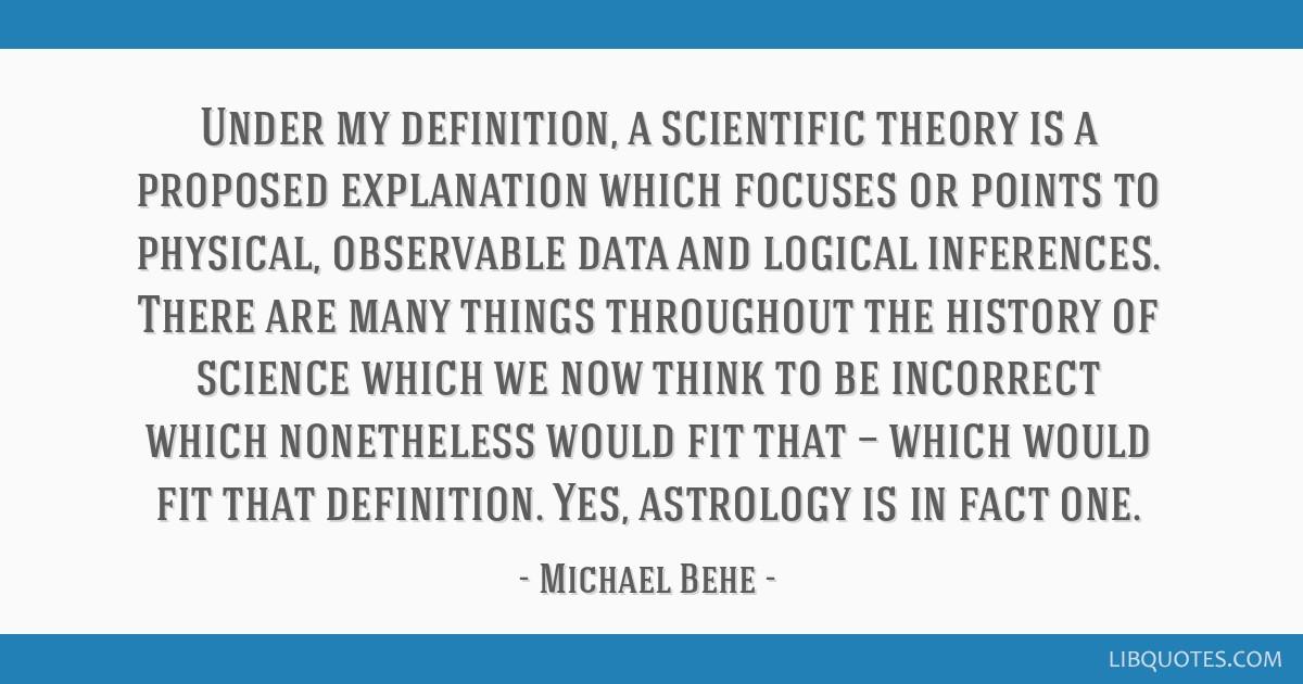 michael behe astrology