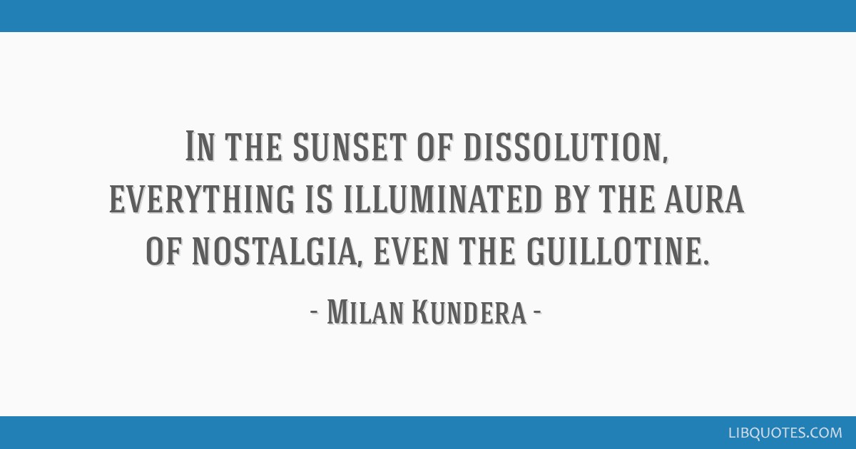 In The Sunset Of Dissolution Everything Is Illuminated By The Aura