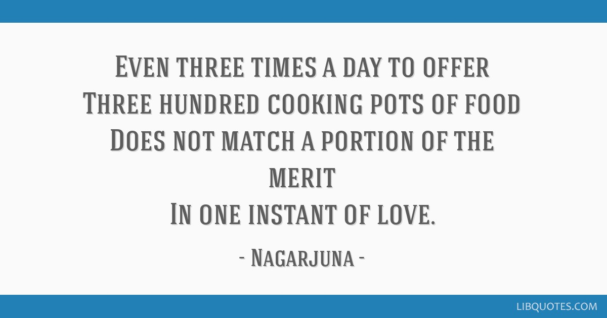 Even Three Times A Day To Offer Three Hundred Cooking Pots Of Food