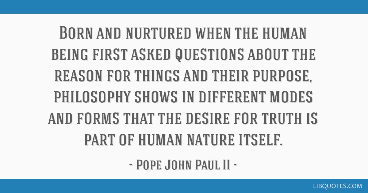 Born and nurtured when the human being first asked questions about the reason for things and their purpose, philosophy shows in different modes and...