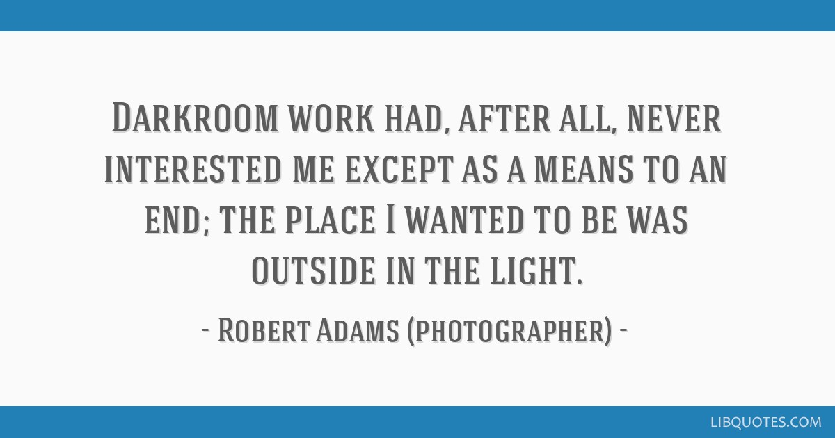Robert adams why people photograph selected essays and reviews