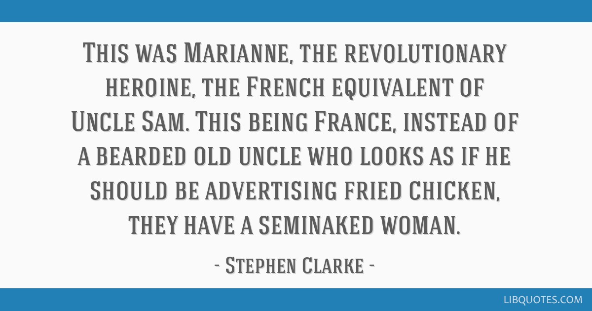 This Was Marianne The Revolutionary Heroine The French Equivalent