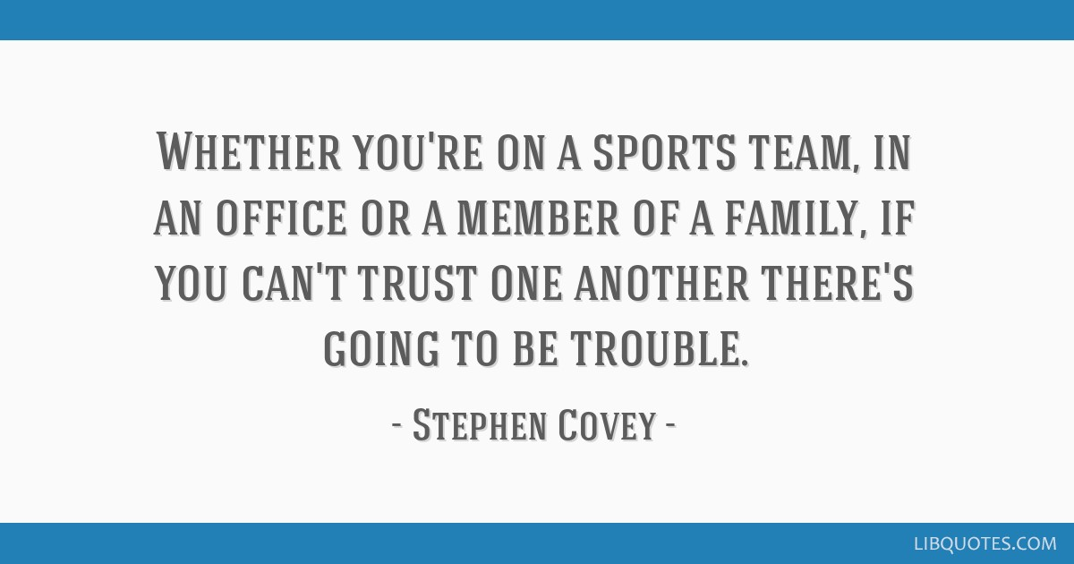 Whether you\'re on a sports team, in an office or a member of ...