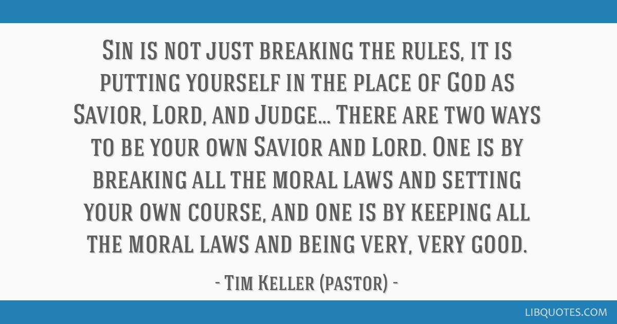 Image result for tim keller prodigal quotes