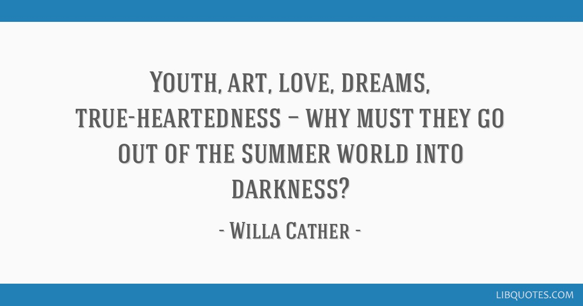 Youth Art Love Dreams True Heartedness Why Must They Go Out Of