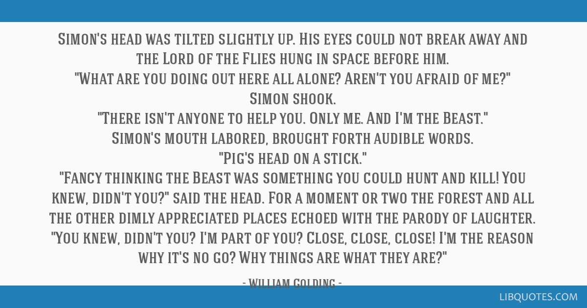lord of the flies simon quotes