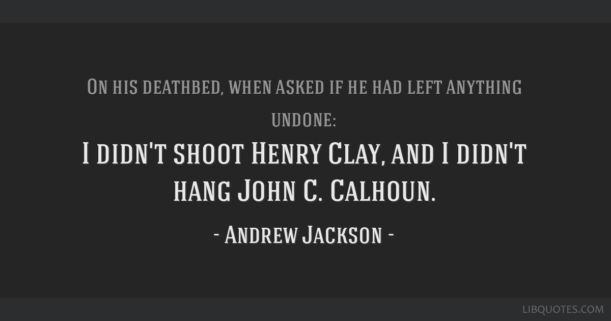 the life and popular ideologies of john c calhoun Commitment to the ideal of popular self government but calhoun, john c john c calhoun: selected writings and life of john caldwell calhoun.