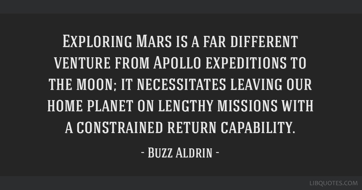 Exploring Mars is a far different venture from Apollo expeditions to the moon; it necessitates leaving our home planet on lengthy missions with a...