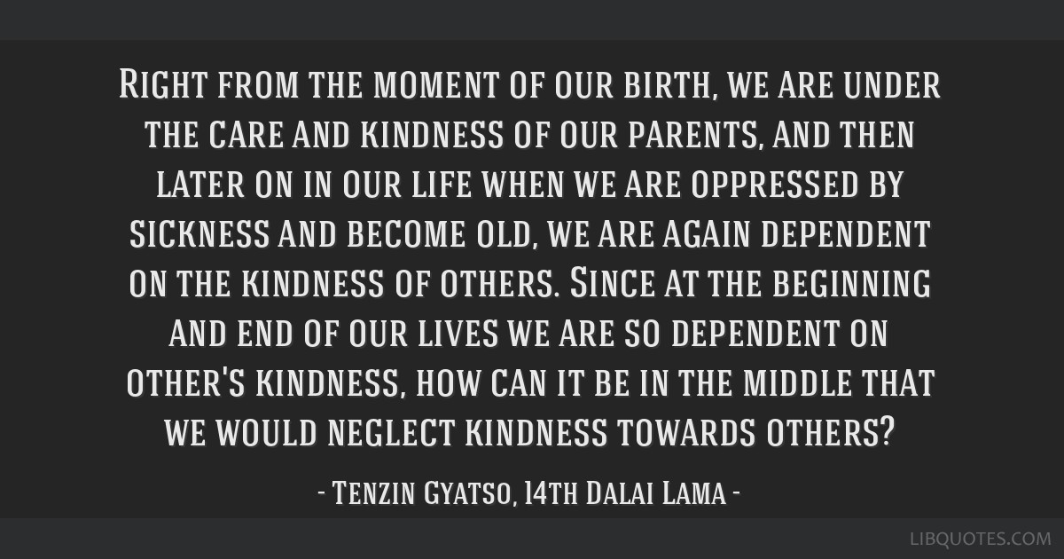 Right from the moment of our birth, we are under the care and kindness of our parents, and then later on in our life when we are oppressed by...