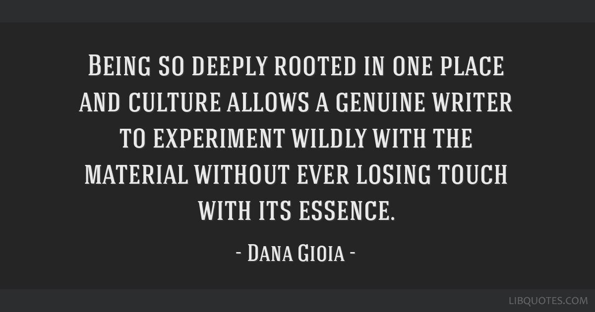 Being so deeply rooted in one place and culture allows a genuine writer to experiment wildly with the material without ever losing touch with its...