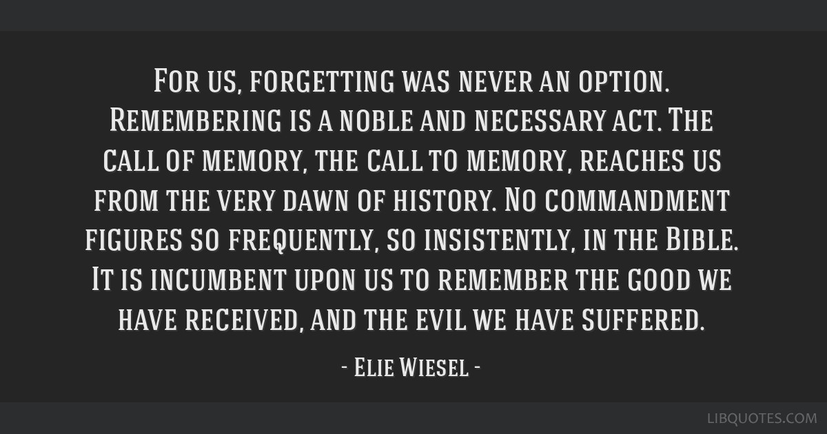 dawn elie wiesel quotes