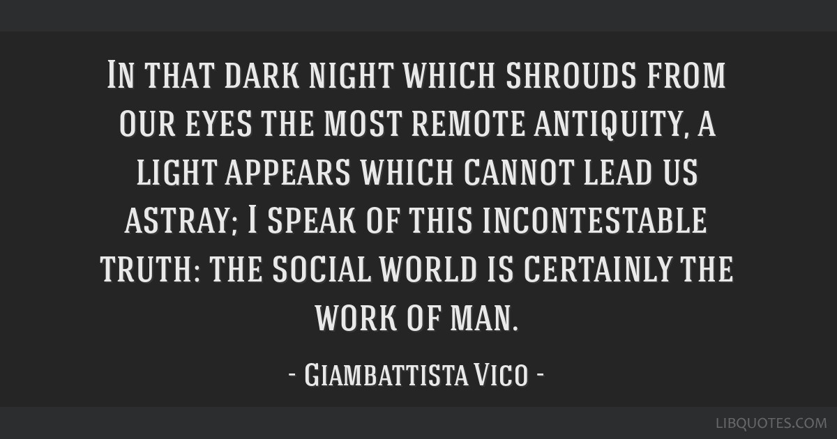In that dark night which shrouds from our eyes the most remote antiquity, a light appears which cannot lead us astray; I speak of this incontestable...