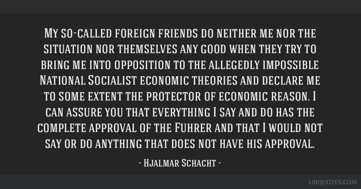 My so-called foreign friends do neither me nor the situation nor themselves any good when they try to bring me into opposition to the allegedly...