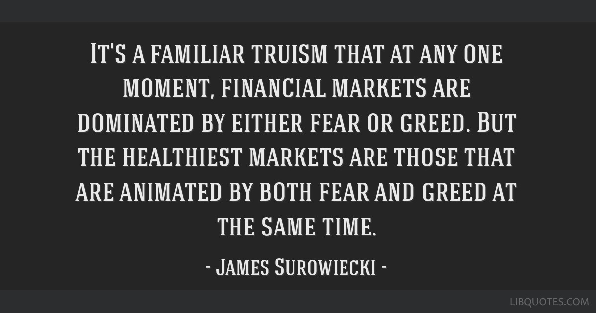 It's a familiar truism that at any one moment, financial