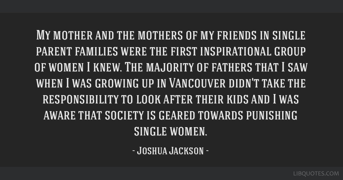 My mother and the mothers of my friends in single parent families were the first inspirational group of women I knew. The majority of fathers that I...