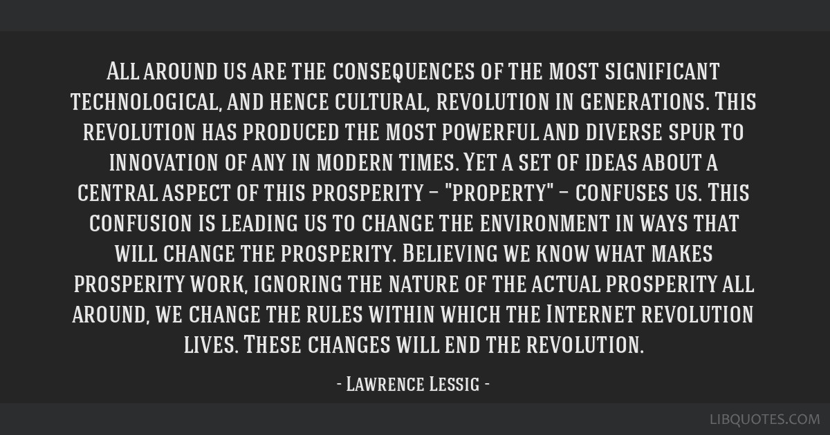 All around us are the consequences of the most significant technological, and hence cultural, revolution in generations. This revolution has produced ...