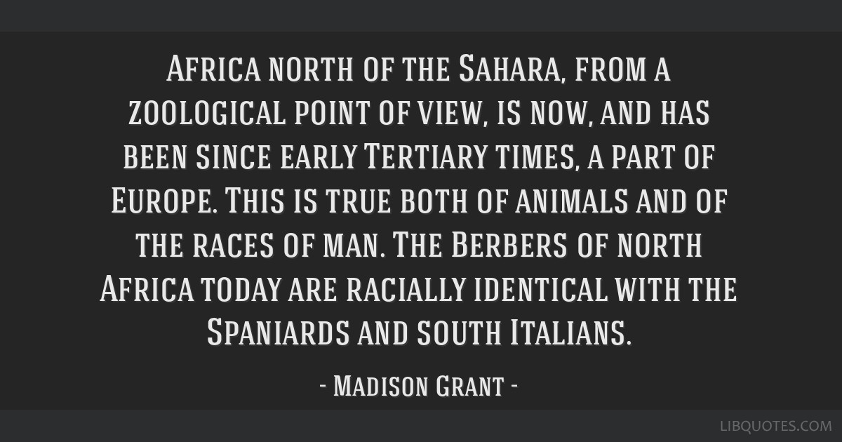 Africa north of the Sahara, from a zoological point of view, is now, and has been since early Tertiary times, a part of Europe. This is true both of...