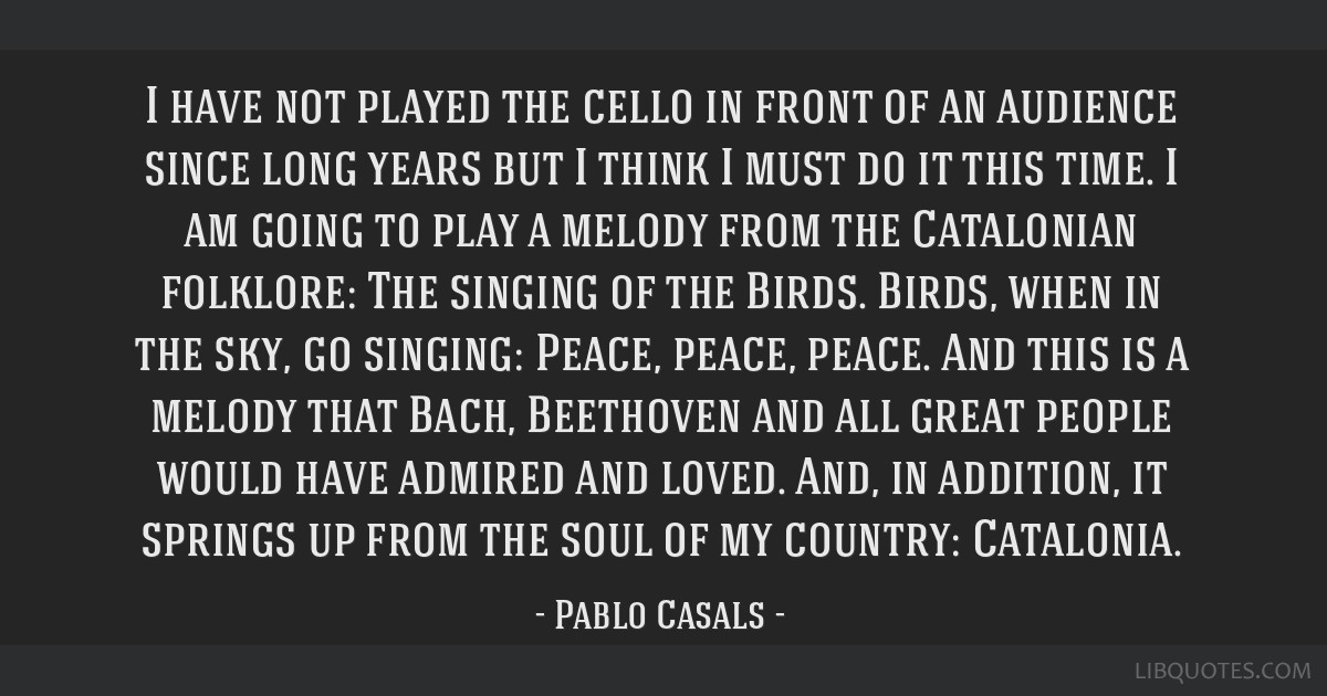 I have not played the cello in front of an audience since long years but I think I must do it this time. I am going to play a melody from the...