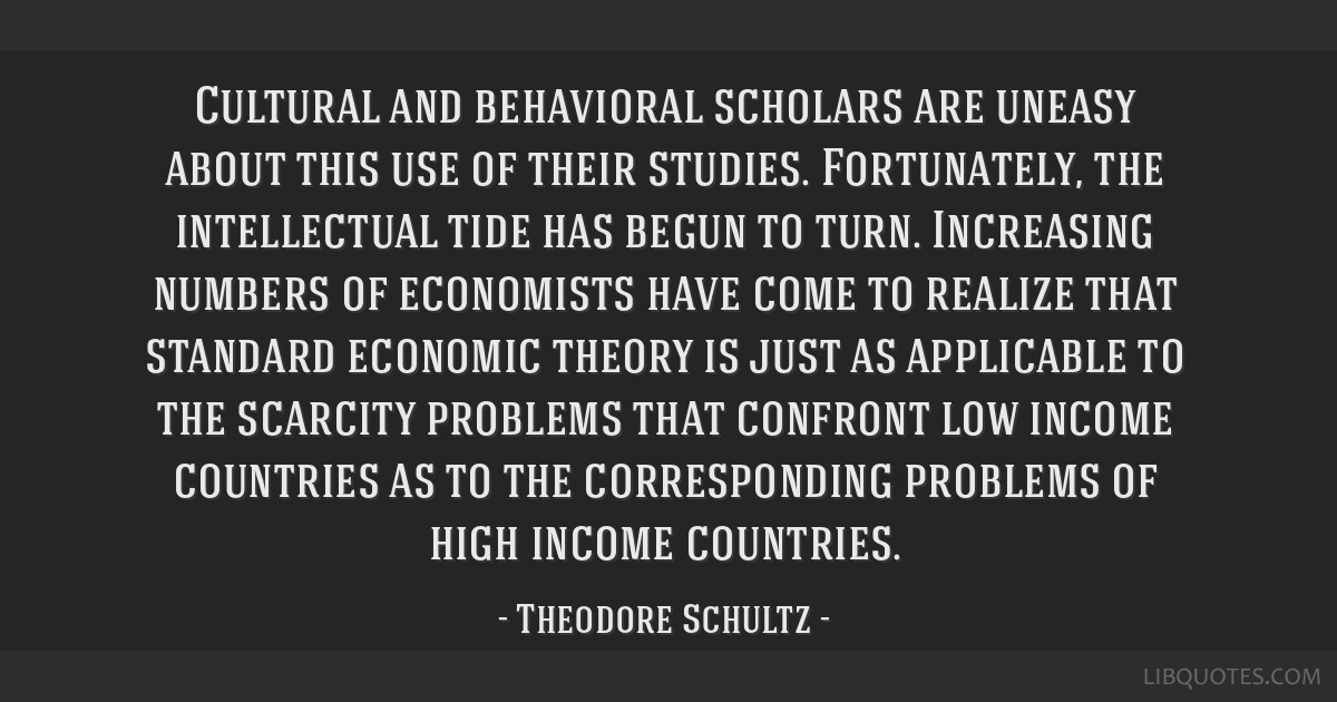 Cultural and behavioral scholars are uneasy about this use of their studies. Fortunately, the intellectual tide has begun to turn. Increasing numbers ...