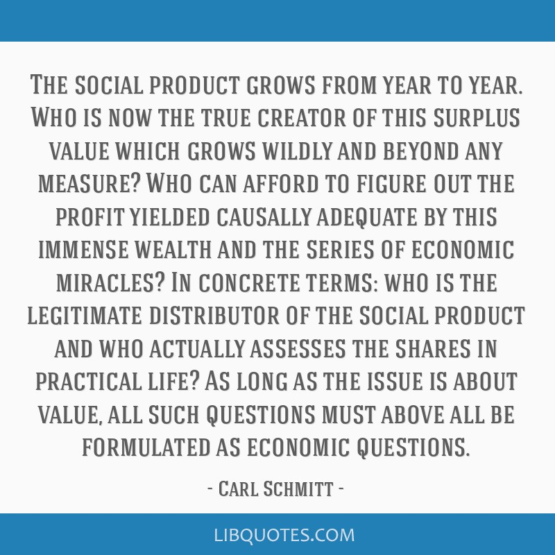 The social product grows from year to year. Who is now the true creator of this surplus value which grows wildly and beyond any measure? Who can...