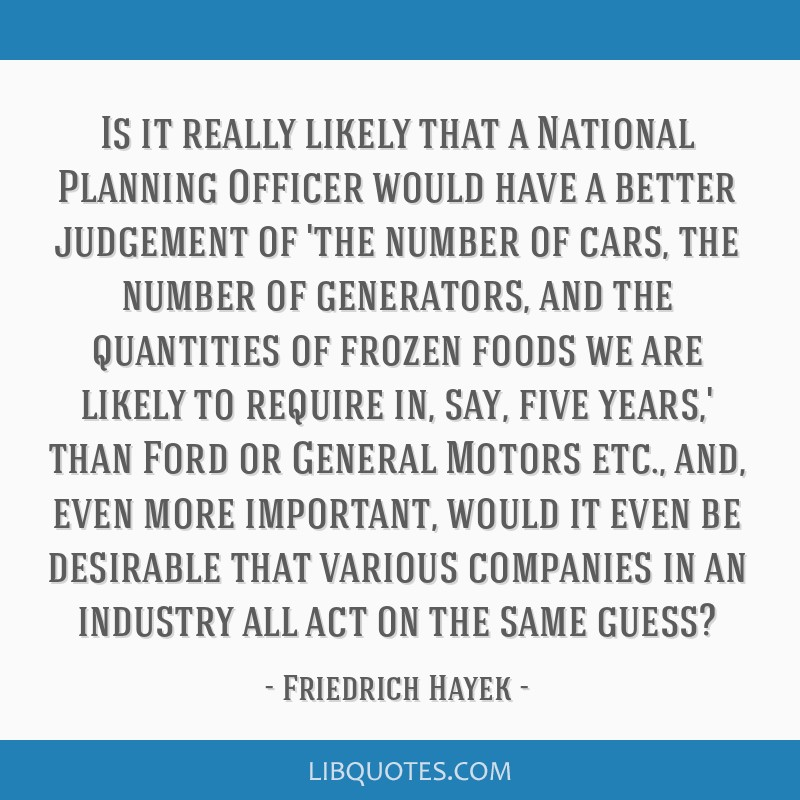 Is it really likely that a National Planning Officer would have a better judgement of 'the number of cars, the number of generators, and the...