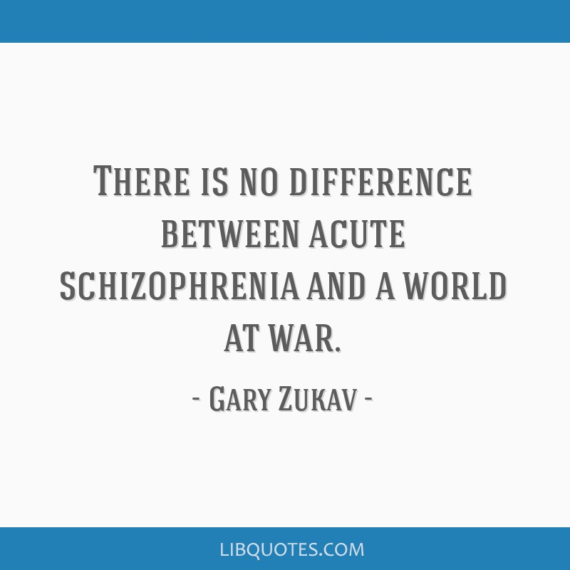 Love Each Other When Two Souls: There Is No Difference Between Acute Schizophrenia And A