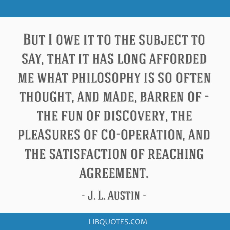 But I owe it to the subject to say, that it has long afforded me what philosophy is so often thought, and made, barren of - the fun of discovery, the ...