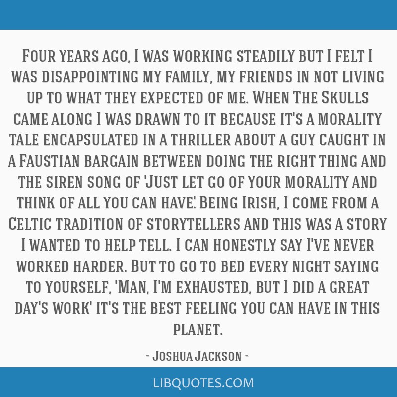 Four years ago, I was working steadily but I felt I was disappointing my family, my friends in not living up to what they expected of me. When The...