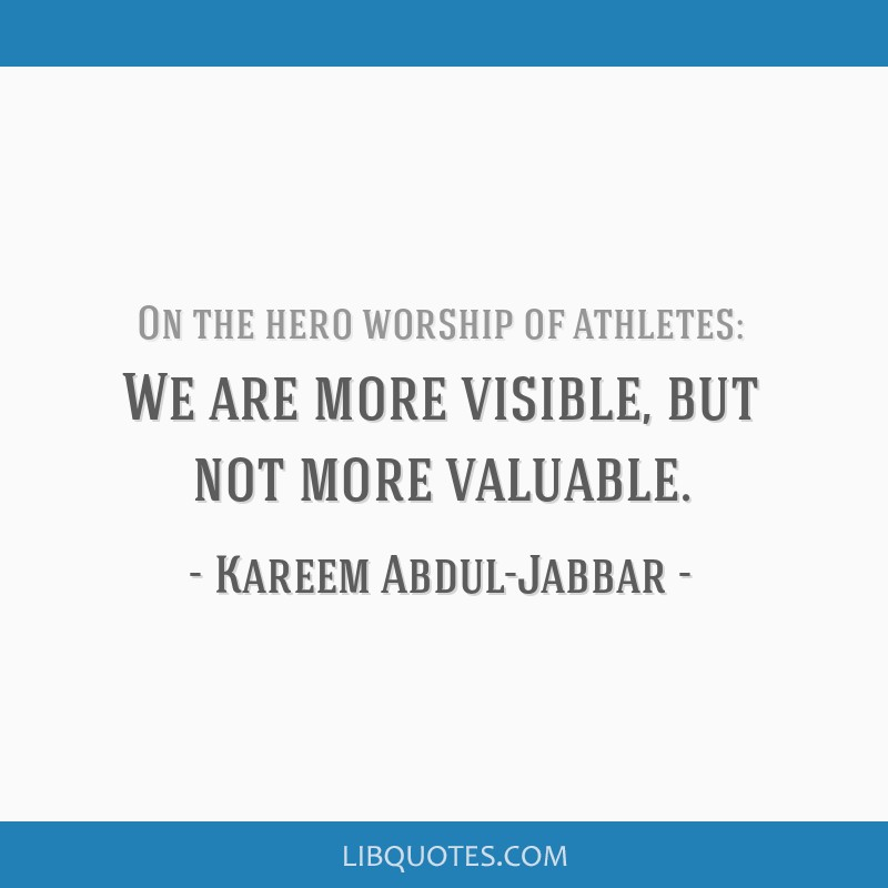 We are more visible, but not more valuable.