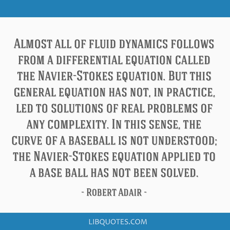 Almost all of fluid dynamics follows from a differential