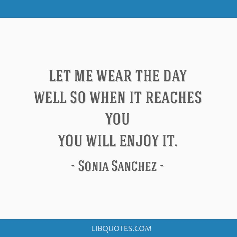 Let me wear the day well so when it reaches you you will enjoy it.