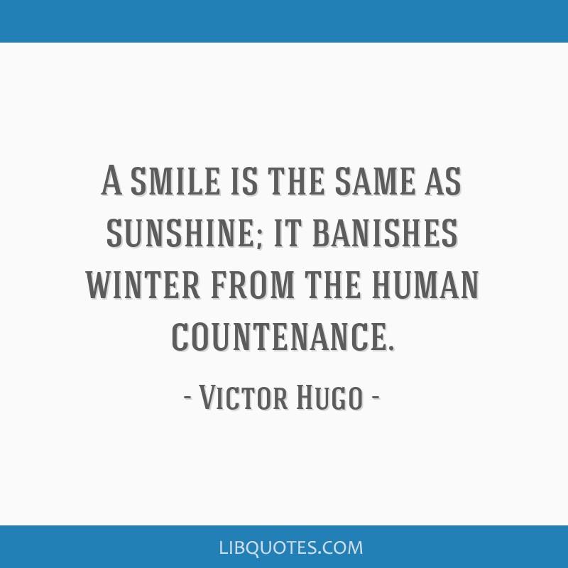 winter smile quotes