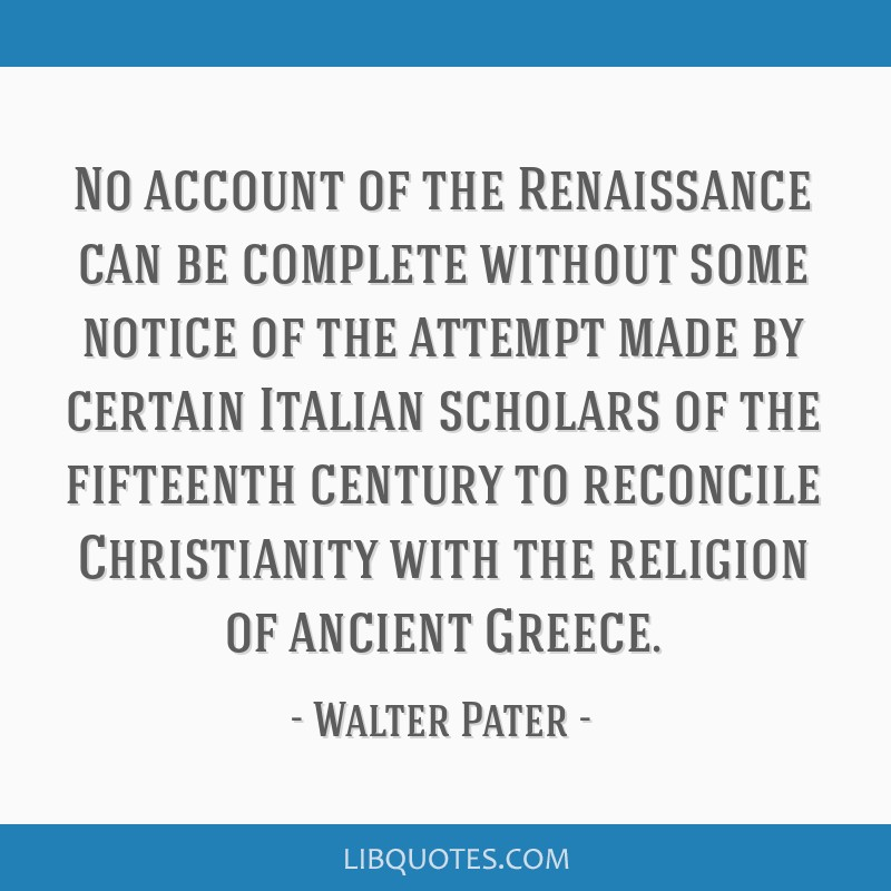 No account of the Renaissance can be complete without some notice of the attempt made by certain Italian scholars of the fifteenth century to...