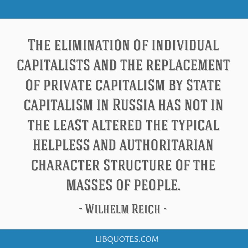 The elimination of individual capitalists and the replacement of private capitalism by state capitalism in Russia has not in the least altered the...