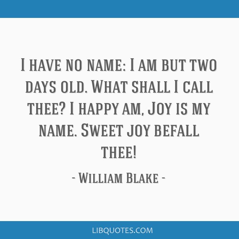 sweet joy befall thee